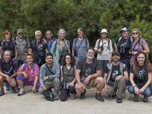 Asistentes a esta salida (faltan dos)(Delta del Llobregat 6-10-2019)