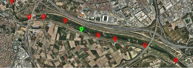 Censo río Llobregat, tramos de Bellvitge a Sant Boi, 17/01/2016 – Grupo Local SEO-BARCELONA