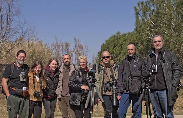 Día del socio 2016: encuento en el Delta del Llobregat