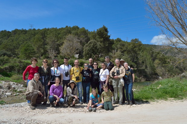 Salida rio Gaia – abril 2016 – Grupo Local SEO Barcelona