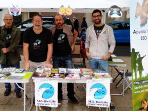 Puesto informativo del Grupo Local SEO Barcelona