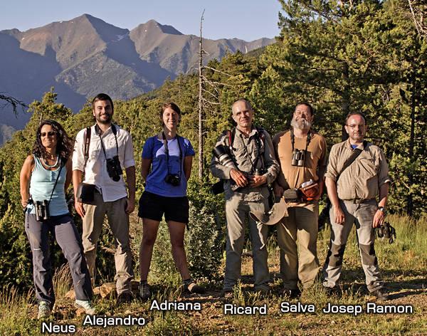 Informe Araós-Bonaigua 2015 - Grupo Local SEO Barcelona - Participantes