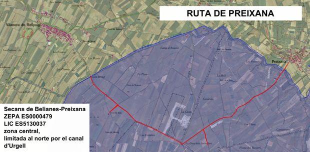 Grupo Local SEO Barcelona, rutas por los secanos de LLeida - ruta 1: Secans de Belianes - Preixana