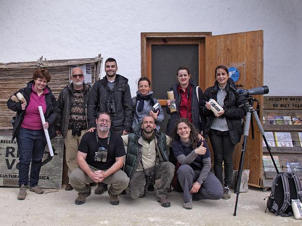 Visita al Delta del Ebro – febrero 2016 – Grupo Local SEO Barcelona