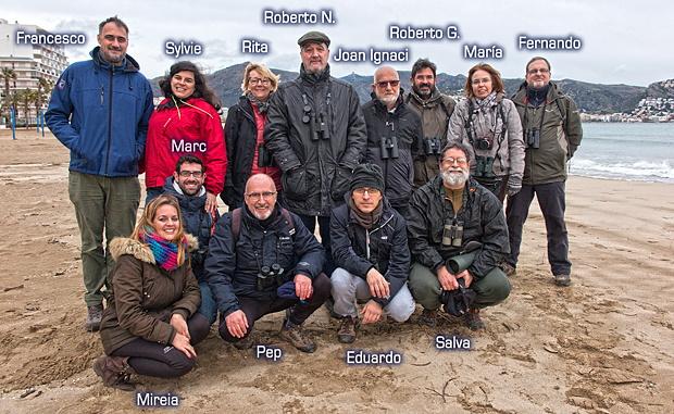 Buscando patos: una jornada invernal en los Aiguamolls de l'Empordà – Grupo Local SEO Barcelona – febrero 2019
