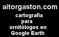 Cartografía para ornitólogos con Google Earth