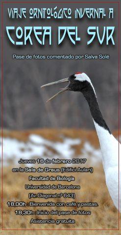 Viaje ornitológico invernal a Corea del Sur - febrero 2017 - Grupo Local SEO Barcelona
