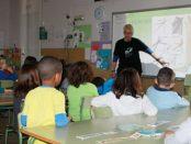 El Grupo Local SEO Barcelona en la Clase dels Ocells de l'Escola Xarau – mayo 2016