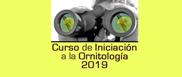 Curso de iniciación a la ornitología – abril 2019
