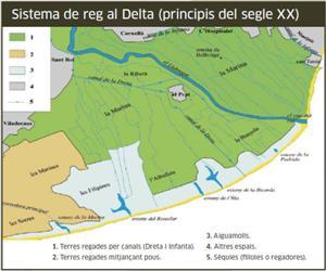 Sistema de reg al Delta (principis del segle XX) - El Delta a vista de pájaro 10 - Patrimonio cultural arquitectura y cultura