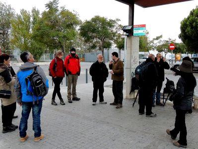 A vueltas por el río (Llobregat, desde luego) - Grupo Local SEO Barcelona preparándose para el censo