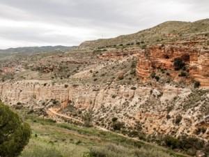 Maestrazgo 2015 – Grupo Local SEO Barcelona – vista desde el mirador de la ruta de Los Estrechos