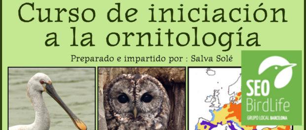 Curso de iniciación a la ornitología - septiembre 2016 - Grupo Local SEO Barcelona